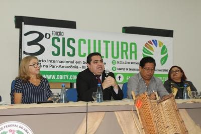 UFAM – lll Siscultura debate aspecto sociocultural na Amazônia e na Pan-Amazônia